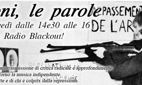 "I Suoni, le Parole – ""Stay tuned or stay on the barricades"""