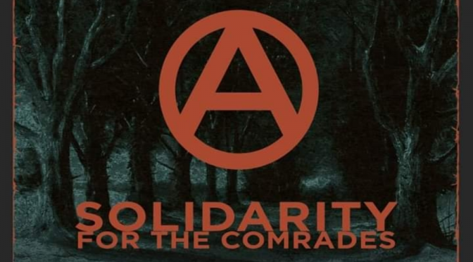 "Caged – ""Freedom for All, Solidarity for the Comrades"""