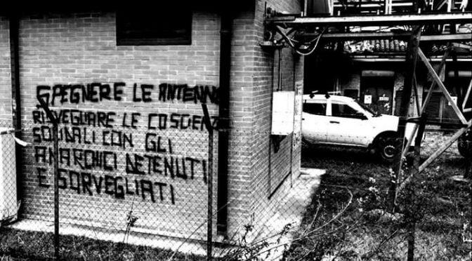 """""""Delle Galere Solo Macerie"""" – Solidarietà ai/alle compagni/e arrestati/e a Bologna"""