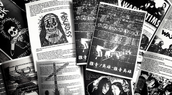 """""""Dis means war, Noise means friendship!"""" – Interview with Just a Nightmare Zine"""